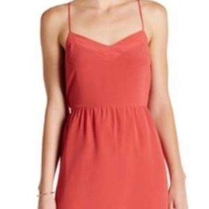 NWOT coral Madewell dress
